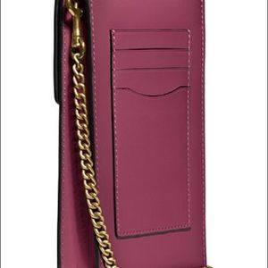 COACH Signature Phone Crossbody
